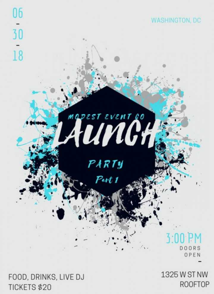 Modest Event Co Launch Party!