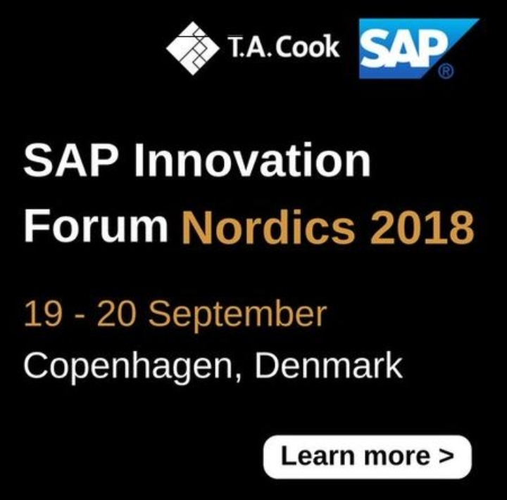 SAP Innovation Forum Nordics