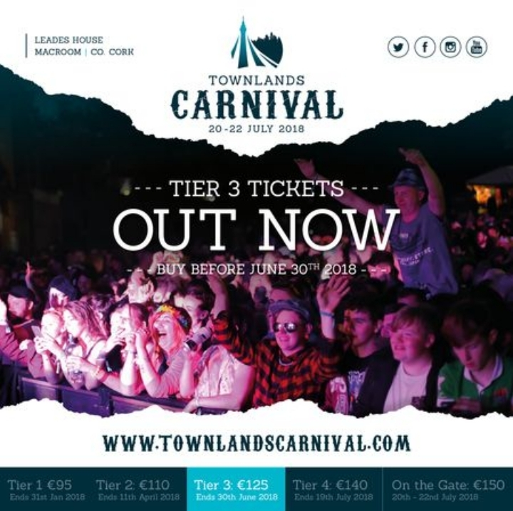Townlands Carnival 2018 - Music, Art and Carnival