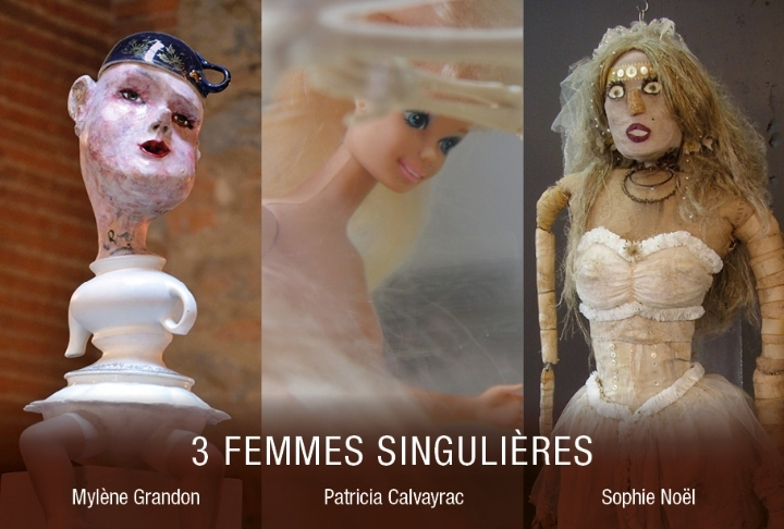 Expo - 3 femmes singulières