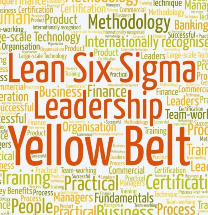 Lean Six Sigma Yellow Belt IASSC certified