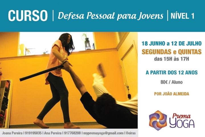 CURSO DE DEFESA PESSOAL PARA JOVENS - NÍVEL I