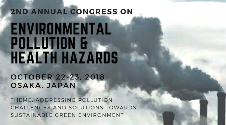 2nd Annual Congress on Environmental Pollutio