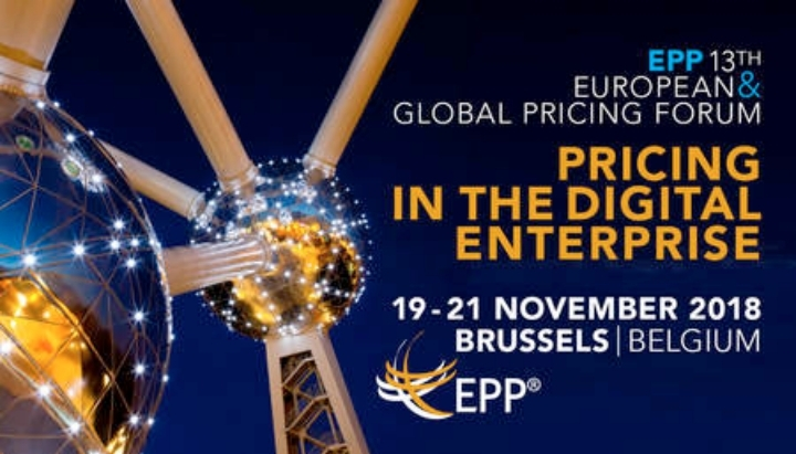 13th EPP European and Global Pricing Forum, 2018 Brussels