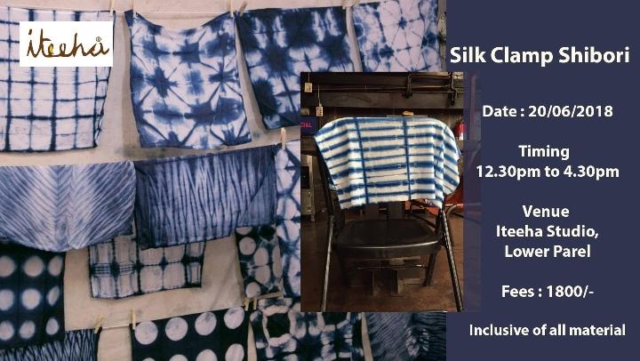Japanese Shibori on Silk (Tie & Dye)