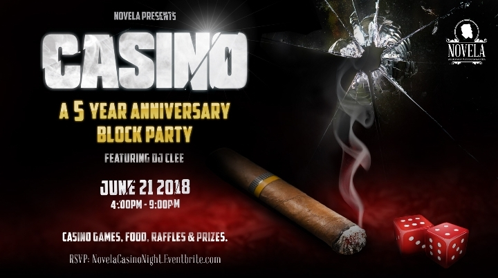 CASINO - A 5 Year Anniversary Block Party