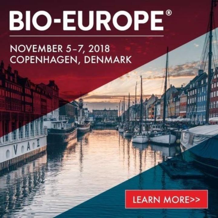BIO-Europe Conference, Copenhagen 2018 - 24th