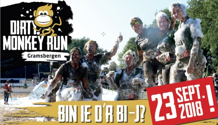 Dirty Monkey Run 2018 (Mud-obstakelrun)