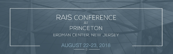 10th RAIS Princeton Conference on Social Scie