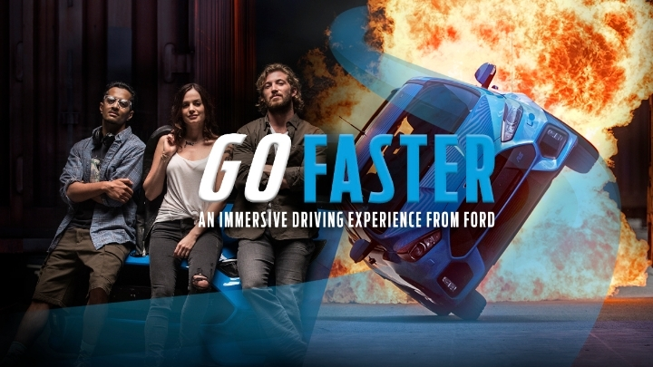 Go Faster: An Immersive Driving Experience