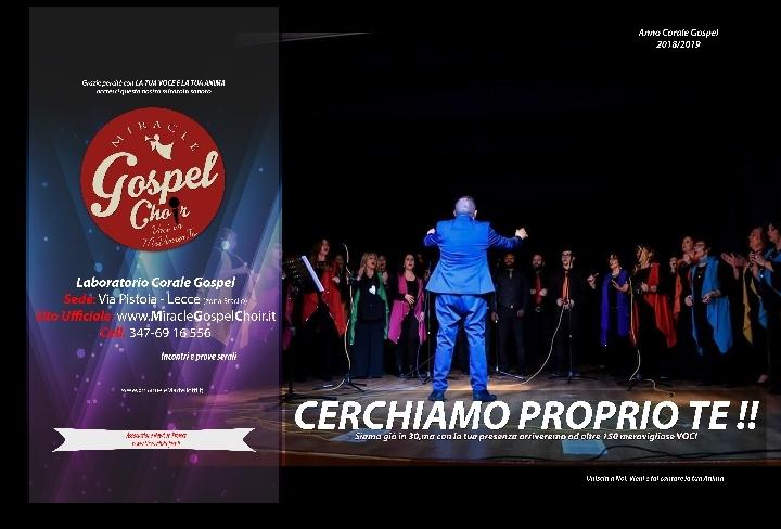 Concerto con i Miracle Gospel Choir e I Sempr