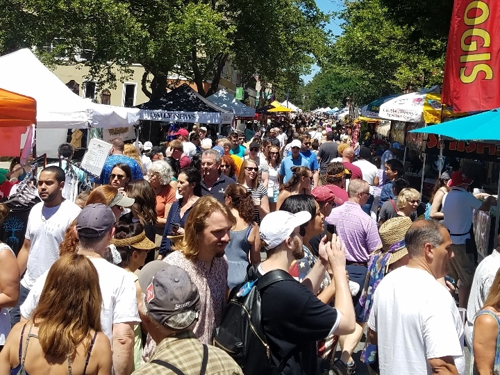 Nyack Famous Street Fair, Sun. July 8 Nyack N