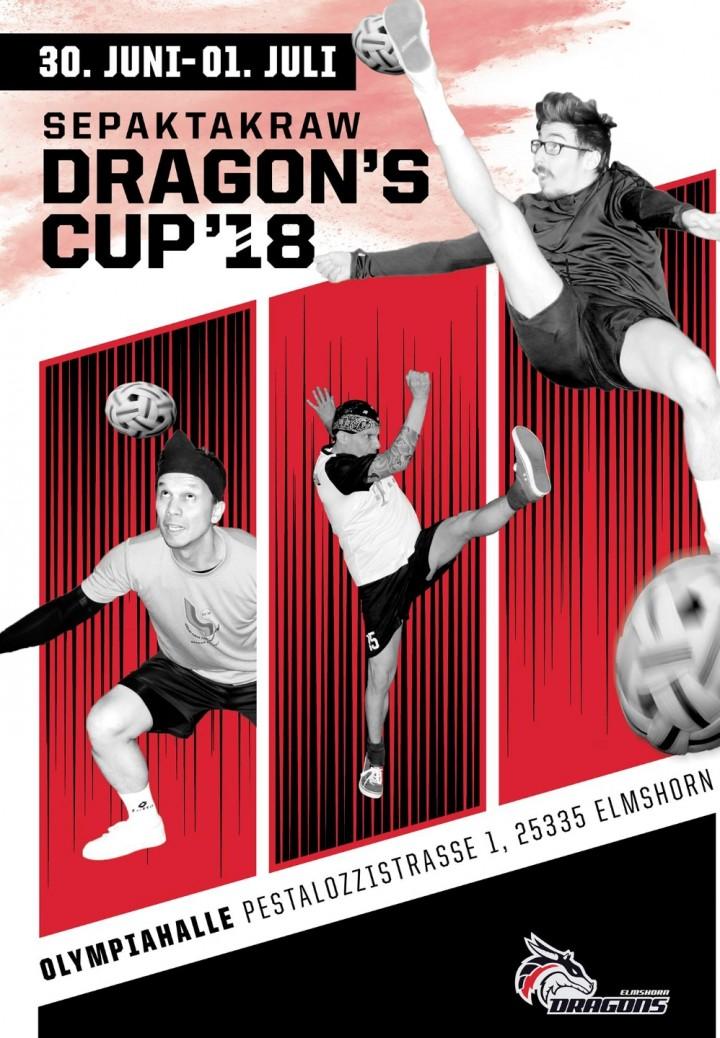 Dragons Cup 2018 Sepaktakraw