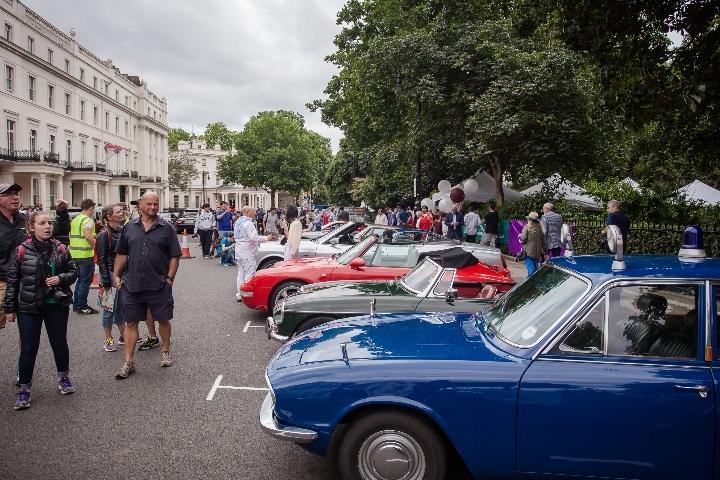 Belgravia Classic Car Show