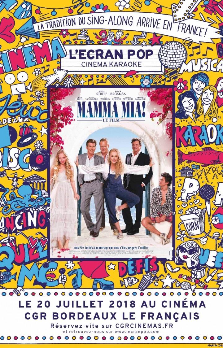 L'Ecran Pop Mamma Mia!