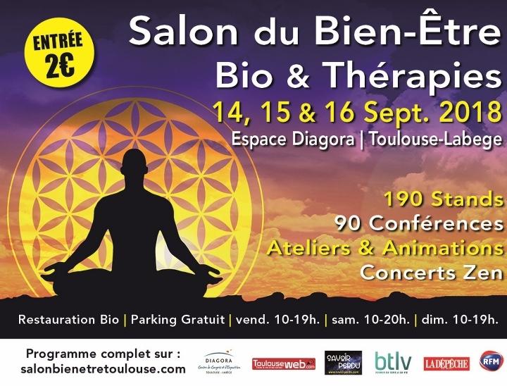 Salon du Bien Etre, Bio et Thérapies Toulouse Labège