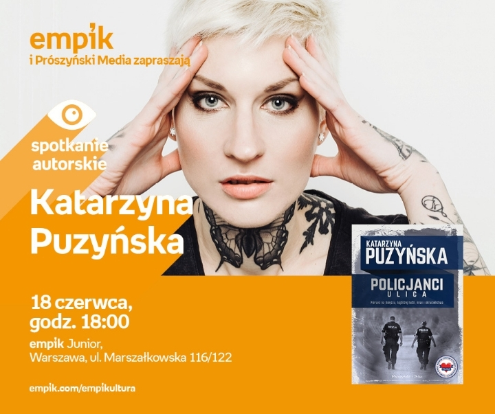 """Katarzyna Puzyńska z """"Norą"""" w Warszawie"""