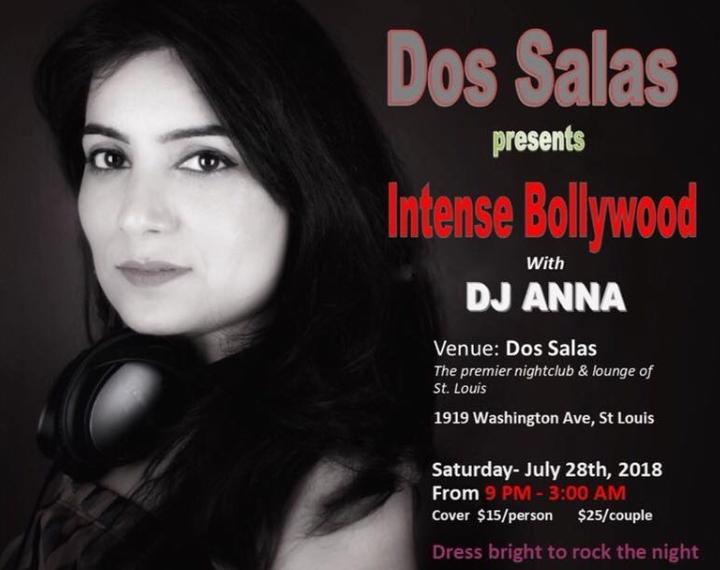 Intense Bollywood with DJ ANNA