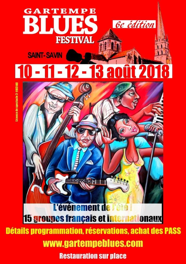 GARTEMPE BLUES FESTIVAL 2018