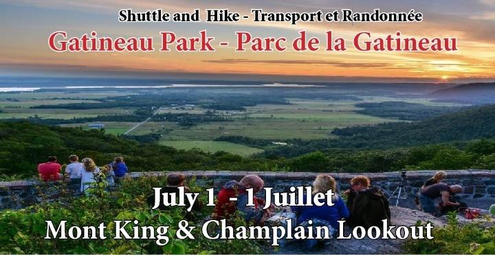 Shuttle and Hike - Gatineau Park