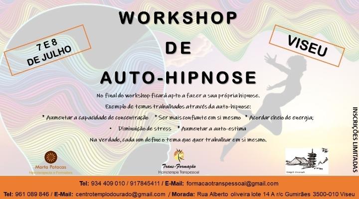WORKSHOP DE AUTO-HIPNOSE