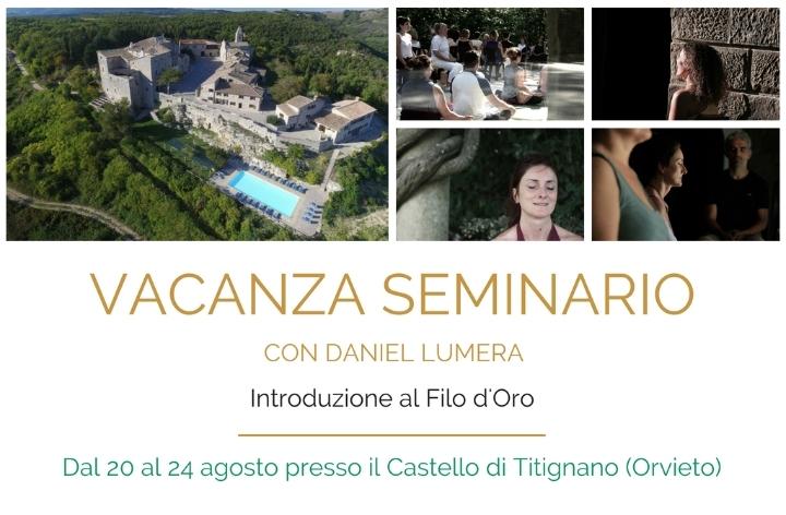 Vacanza seminario con Daniel Lumera
