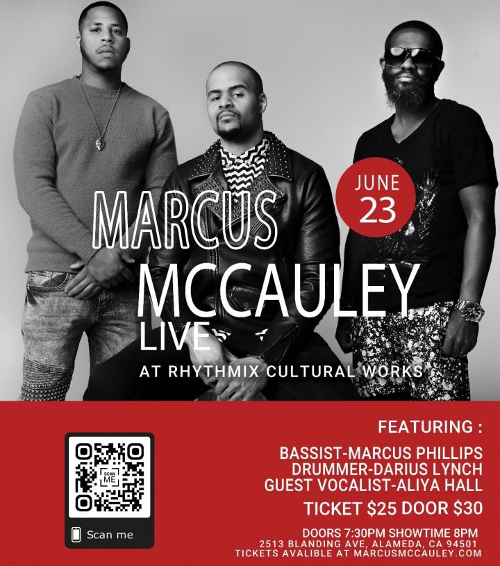 Marcus McCauley Live