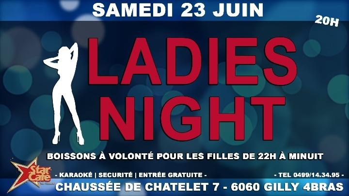 Soirée Ladies Night au Star Café