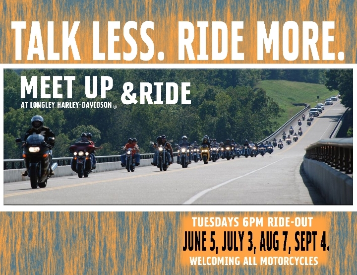 Meet Up & Ride Motorcycle Event