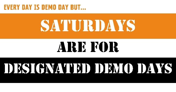 Designated Demo Days