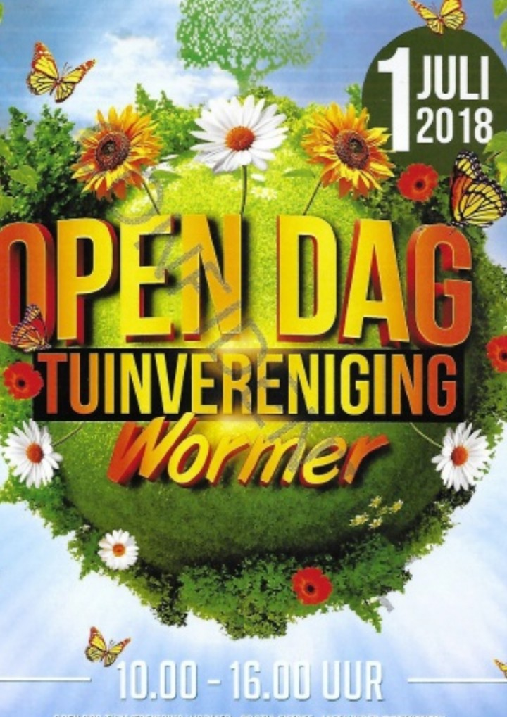 Opendag Tuinvereniging Wormer