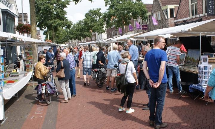 Kunstmarkt Woldstraat Meppel