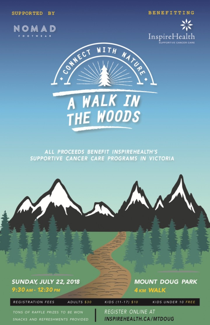 A Walk In The Woods- Charity Fundraiser
