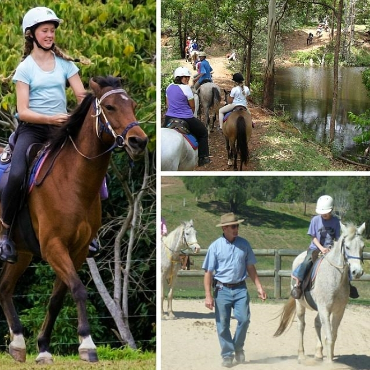 Winter Horse Riding Camp
