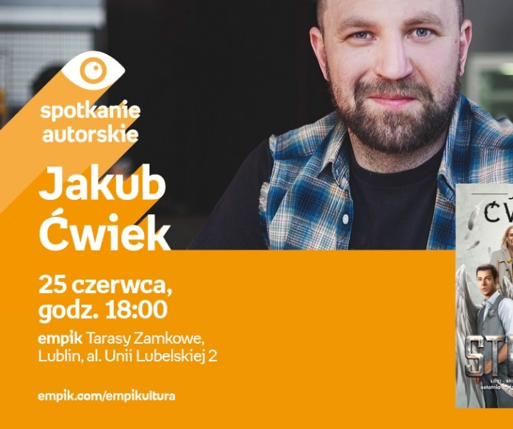Spotkanie z Jakubem Ćwiekiem w Lublinie