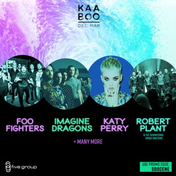 KAABOO DEL MAR PASSES FOR SALE 2018 SAN DIEGO