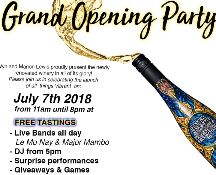 The Vibrant Vine Grand Opening Party