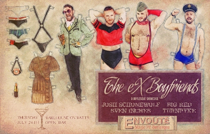 The Ex-Boyfriends Burlesque Showcase
