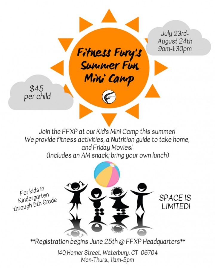 Fitness Fury's Summer Fun Minicamp