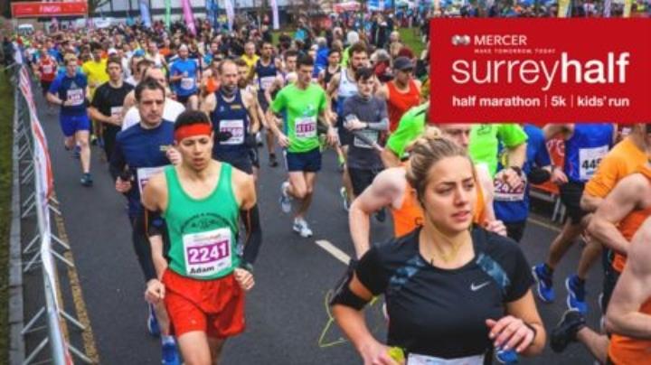Mercer Surrey Half Marathon - 10 March 2019