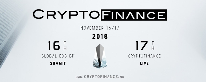 CryptoFinance 2018