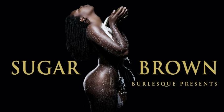 Sugar Brown : Burlesque Bad & Bougie Comedy