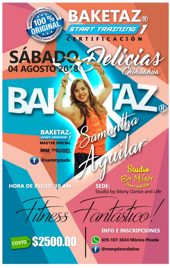 Certificación Start Training y Dance Baketaz®