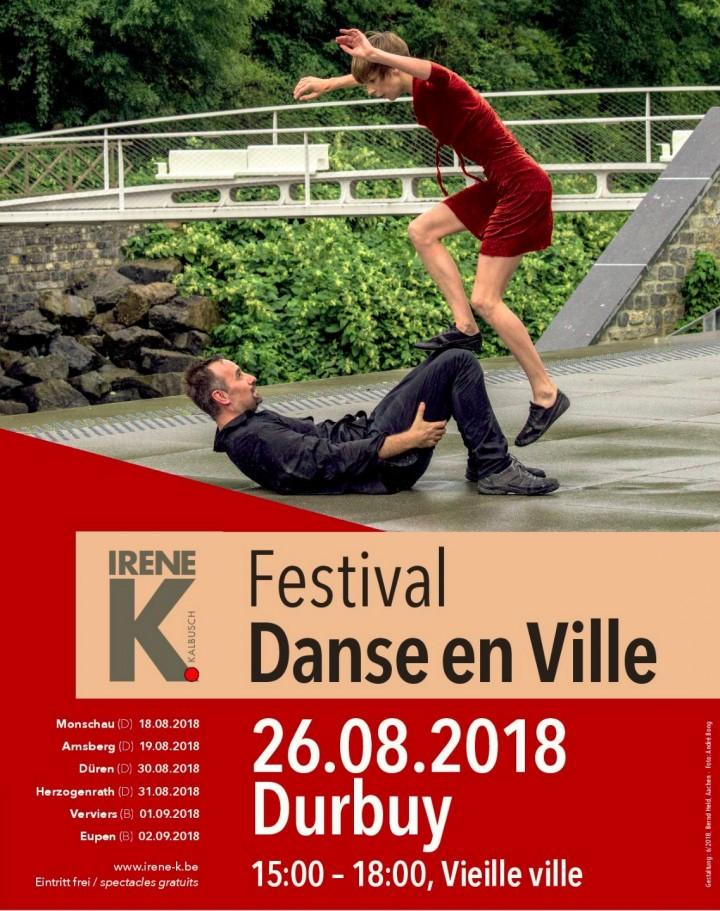 Festival Danse en Ville 2018 - Durbuy