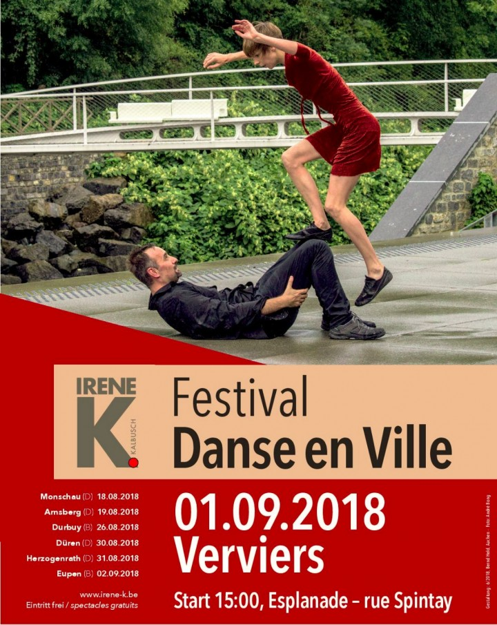 Festival Danse en Ville 2018 - Verviers