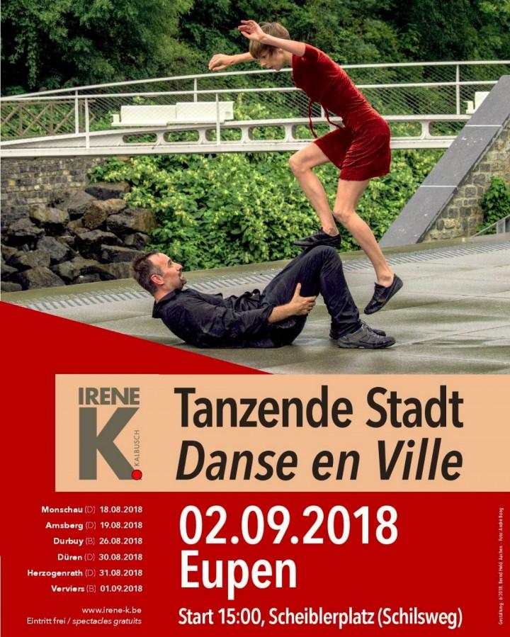 Festival Danse en Ville 2018 - Eupen