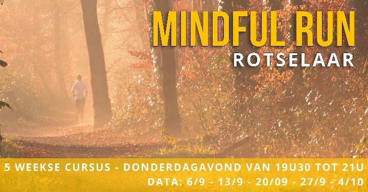 Mindful Run Rotselaar 5-weekse cursus