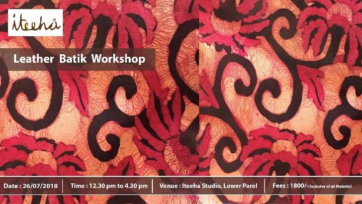 Leather Batik Workshop