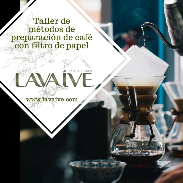 TALLER DE MÉTODOS DE PREPARACIÓN DE CAFÉ