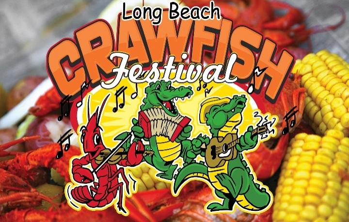 Long Beach Crawfish Festival July 27-29, 2018